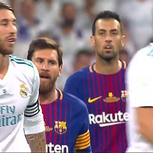 Sergio Ramos Trolling Lionel Messi (Real Madrid vs FC Barcelona) - YouTube