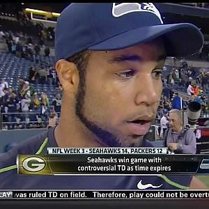 Push Off? Golden Tate Doesn't Know What You're Talking About - YouTube