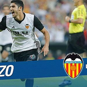 Great Goal of Guedes (1-0) Valencia CF vs Sevilla FC - YouTube
