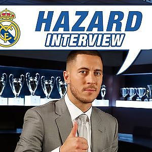 "Eden Hazard EXCLUSIVE interview: ""This white shirt means a lot to me."" HD - YouTube"