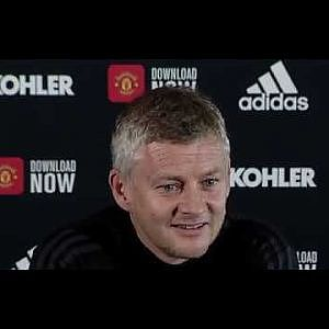 Solskjaer Press Conference vs Leicester 2019 - YouTube