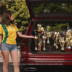 Jump On The Wagen Tiguan Brazil - YouTube