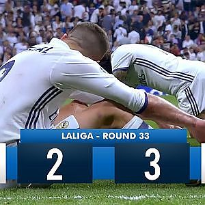 Real Madrid 2-3 Barcelona HD 1080i Full Match Highlights (23/04/17) - YouTube