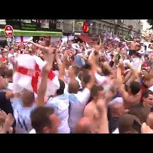 England Fans - YouTube