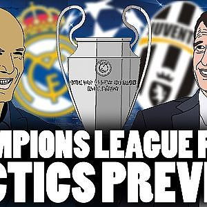 Tactics Explained | Champions League Final: Real Madrid vs Juventus - YouTube