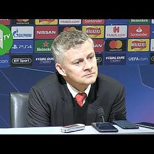 Man United 0-2 PSG | Solskjaer: Were Man United, we always bounce back! - YouTube