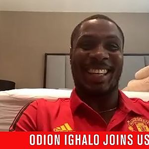 MUTV Group Chat | Odion Ighalo joins the call | Manchester United - YouTube