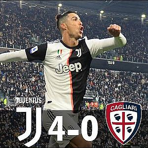 Juventus vs Cagliari 4-0 - All Goals & Extended Highlights - 2020 - YouTube