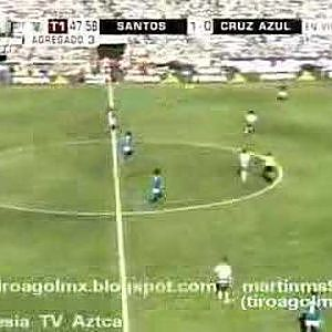 Santos vs Cruz Azul Clausura 2008 Final (Vuelta) - YouTube