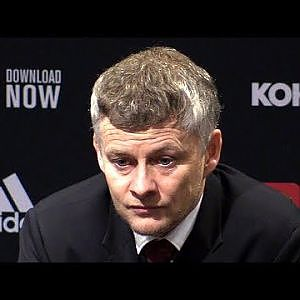 Man Utd 1-3 Man City - Ole Gunnar Solskjaer FULL Post Match Press Conference -Carabao Cup Semi-Final - YouTube