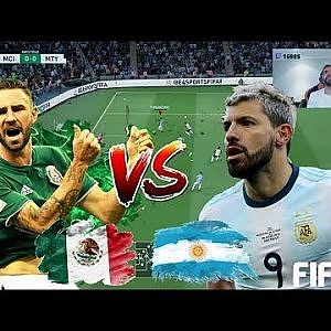 FIFA 20 !! KUN AGUERO VS MIGUEL LAYUN - YouTube