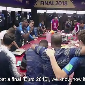 POGBA'S MOTIVATIONAL SPEECH BEFORE THE WORLD CUP FINAL (english sub) - YouTube