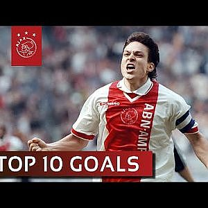TOP 10 GOALS - Jari Litmanen - YouTube