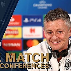 Press Conference | Ole Gunnar Solskjaer & Anthony Martial | Manchester United v Paris St-Germain - YouTube
