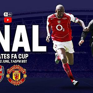 Arsenal vs Manchester United | LIVE FULL MATCH | 2005 Final | FA Cup 2004/05 - YouTube