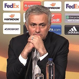 Jose Mourinho Full Press Conference After Manchester United Win The Europa League - YouTube