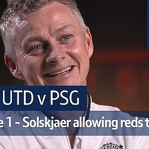 """Ole's at the wheel!"" - No Filter UCL: Man Utd vs PSG - YouTube"