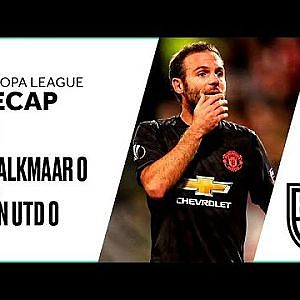 AZ Alkmaar 0-0 Manchester United: Europa League Recap with Goals, Highlights and Best Moments - YouTube