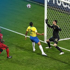FOX Sports' Save of the Day: Thibaut Courtois holds Belgium's lead | 2018 FIFA World Cup™ - YouTube