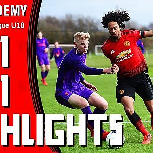 U18 Highlights | Manchester United 1-1 Liverpool | The Academy - YouTube