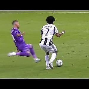 Sergio Ramos Strongest Tackles Ever - YouTube