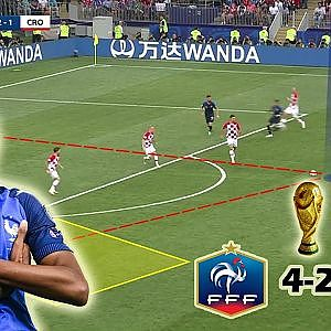 France Becomes The New World Champions | France vs Croatia 4-2 | Tactical Analysis - YouTube