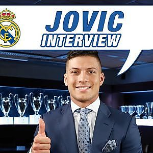 "Luka Jovi EXCLUSIVE interview: ""It's such a pleasure to wear a Real Madrid shirt!"" - YouTube"