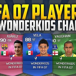 FIFA 07 PLAYERS! WHAT WONDERKIDS MADE IT?! #1 - YouTube