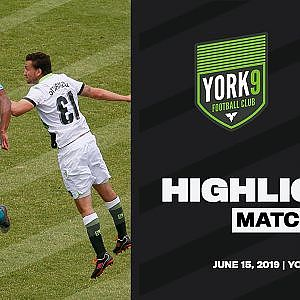 HIGHLIGHTS | York9 FC vs Pacific FC [Game 21, June 15] - YouTube