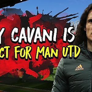 Why Edinson Cavani is Solskjaers Perfect Number Nine For Manchester United | Tactics Explained - YouTube