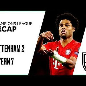 Tottenham 2-7 Bayern Munich: Champions League Group B Recap with Goals and Best Moments - YouTube
