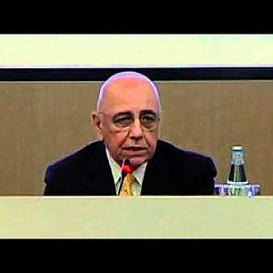 Galliani: 'Championship? I don't know what the future holds' - YouTube