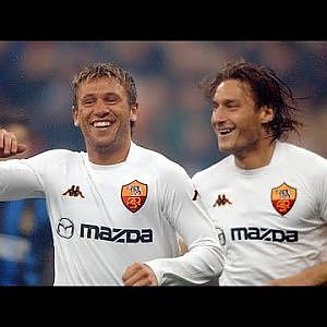 Francesco Totti & Antonio Cassano  Insane Duo ||HD|| Crazy Telepathy - YouTube