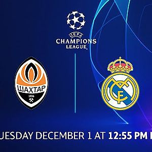 Shakhtar Donetsk vs Real Madrid: Group Stage Preview - Matchday 5 | UCL on CBS Sports - YouTube
