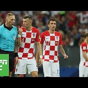 Ivan Perisic penalty decision: Did referee get World Cup final call 'shockingly' wrong? | ESPN FC - YouTube