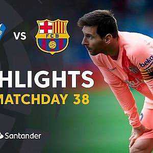 Highlights SD Eibar vs FC Barcelona (2-2) - YouTube