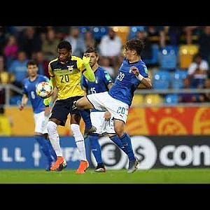 MATCH HIGHLIGHTS - Italy v Ecuador - FIFA U-20 World Cup 2019 - YouTube