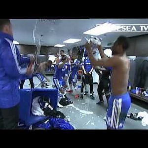 Chelsea FC - FA Cup Final 2012 dressing room celebrations - YouTube