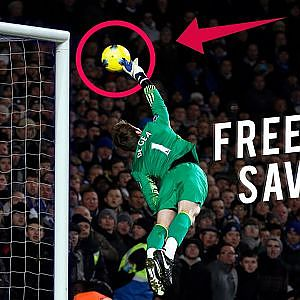Top 10 Best Free Kick Saves In Football - YouTube