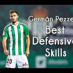Germán Pezzella • Best Defensive Skills • Real Betis 2015/2017.HD - YouTube
