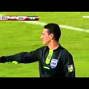 Soccer Flop Punches Himself With Defenders Hand - YouTube